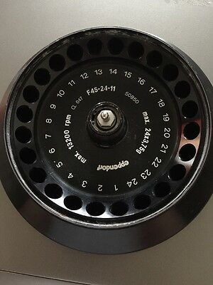 Eppendorf Rotor F45-24-11 For Centrifuge 5415d 5415r