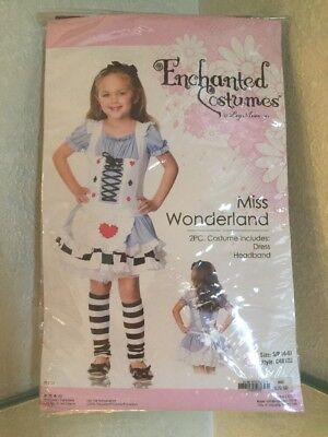 Miss Wonderland Halloween Child Costume Size S/P (4-6)](Children's Wonderland Halloween)