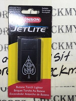 new Ronson Jetlite Butane Cigar Lighter - Satin Dusk & Ace by Zippo