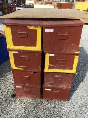 8 Jobox Welders Job Site Boxes 30 W X 16 D X 12 H 650990 Steel Tool Box