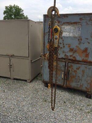 Yale 6 Ton Lever Hoist Psb-a 10 Lift Chain Come Along