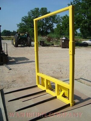 Skid Steer Hay Mover With 4 Spear W Removable Topper