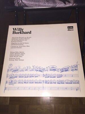 Willy Burkhard LP Das Ewige Brausen