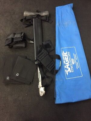 Sager Minto Emergency Traction Splint In Blue Case Great Condition Type 1 Single