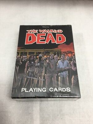 The Walking Dead Animated Deck Playing Cards Comic Version