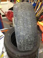 2 Good All Season 205/45 R16 Tires for SALE