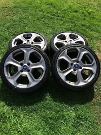 Fiesta st alloys