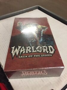 Warlord TCG CCG Saga Of The Storm Deaths Bargain 36-count Booster Box Sealed