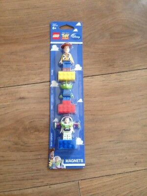Toy Story Lego Mini Figures Buzz & Woody & Alien Magnets