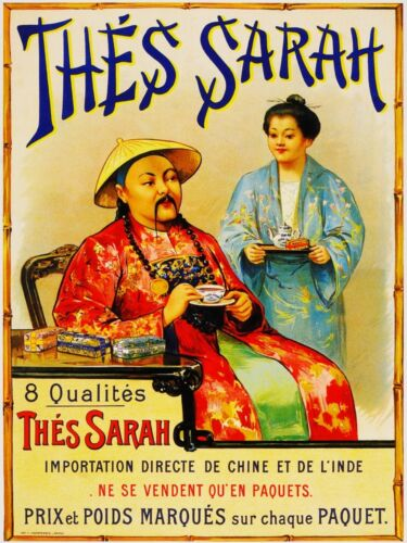 Vintage French Tea Poster available on ebay