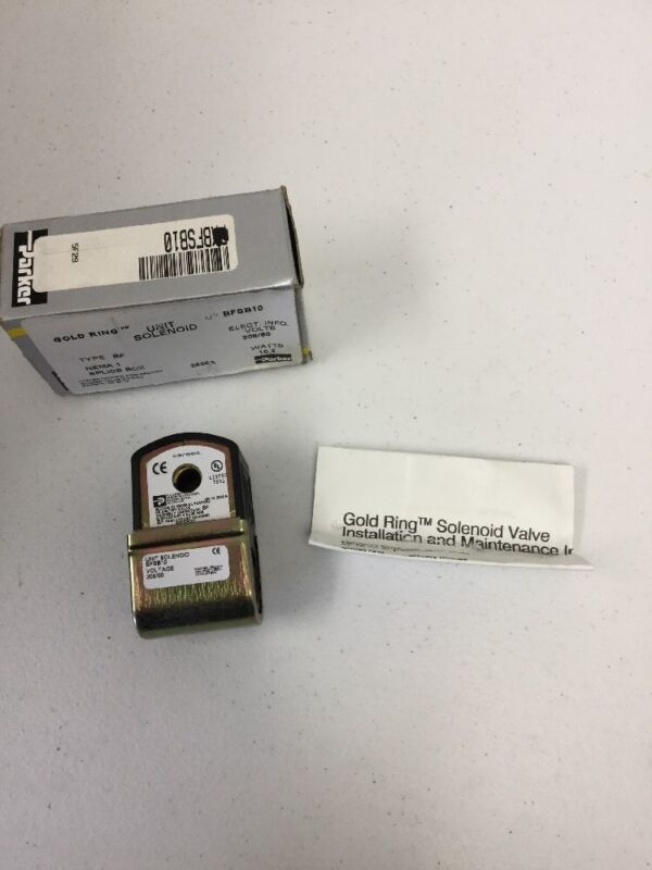 Parker Hannifin Unit Solenoid BFSB10. NEW