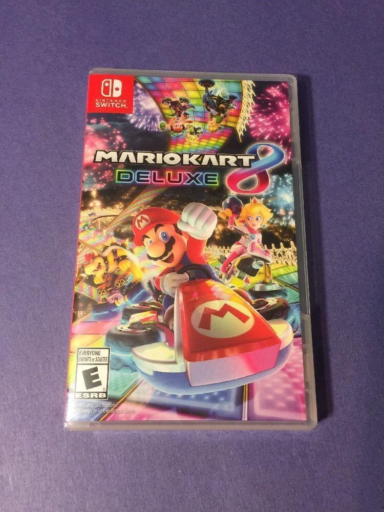 $50.99 - Mario Kart 8 Deluxe (Nintendo Switch, 2017) New Sealed