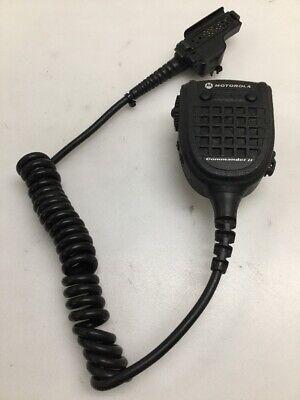 Motorola Rmn5067b Commander Ii Remote Speaker Radio Mic Xts3000 5000 W 3.5 Mm