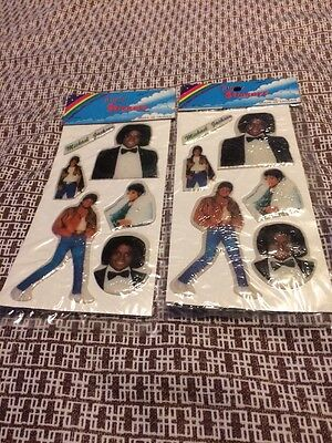 Michael Jackson Puffy Stickers vintage 80s Thriller Off the Wall Sealed Packages](Michael Jackson 80s)