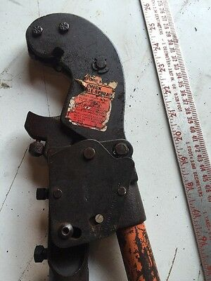 Thomas Betts Tb Tbm6s Wirecable Compression Tool Crimper