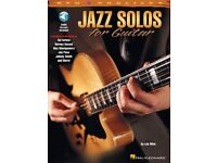 REH Pro Licks Book with Online Audio NEW 000695447 Jazz Solos for Guitar