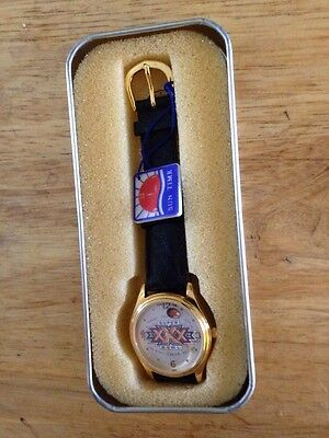 Super Bowl Xxx Watch By Sun Time 1996    Never Used