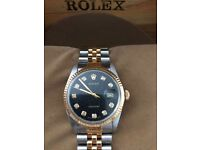 Ladies Rolex midi,steel and gold jubilee