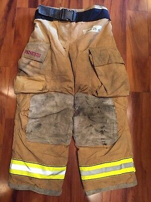 Firefighter Bunker Turnout Gear Pants Globe 36x30 G Extreme Halloween Costume