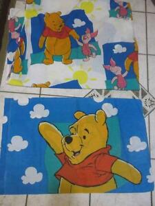 Winnie the Pooh double bed comforter,sheet  pillow case for sale