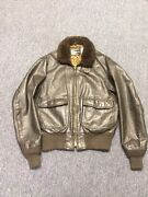 Vintage Leather Flight Jacket