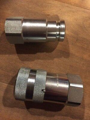Parker Ff-752-12fp And Ff-751-12fp Hydraulic Quick Disconnect