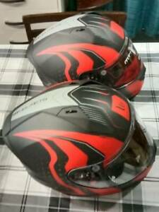 New matching Helmets. Warhead Pair. Extra visors free. ONLY $185- Pair