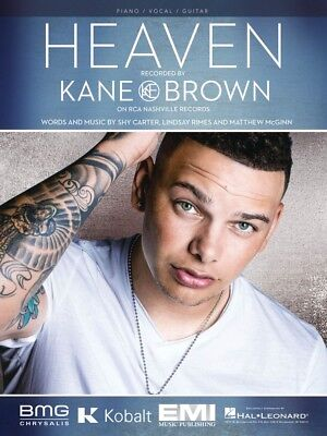 Heaven Sheet Music Piano Vocal Kane Brown NEW 000279535