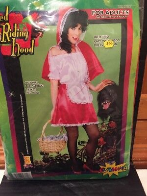 Red Riding Hood Costumes For Adults (Forum Novelties Inc Red Riding Hood Costume For Adults Item Number 23600)