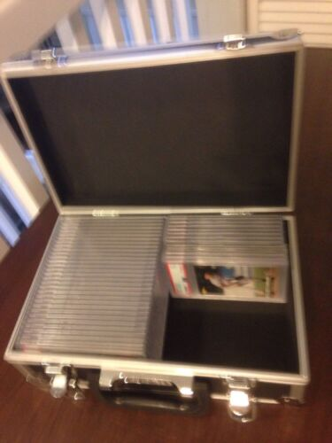 PSA Graded Card Storage Box Protective Travel Case Brand New Padded