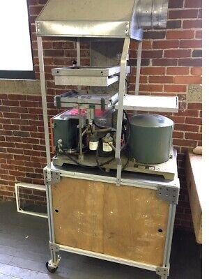 Atlas Model R-12 Auto Vacuum Forming Machine Bench Type 12 X 12 115 Volt Usa