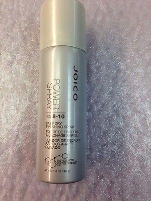 Joico Power Spray Fast Dry Finishing Power Spray 1.5 oz Travel Size Hair Spray