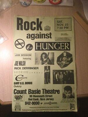 Rock Music Original Poster Red Bank New Jersey Joe Walsh Derringer Southside