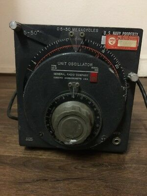 General Radio Unit Oscillator Type 1211 Gr 1211-b Genrad