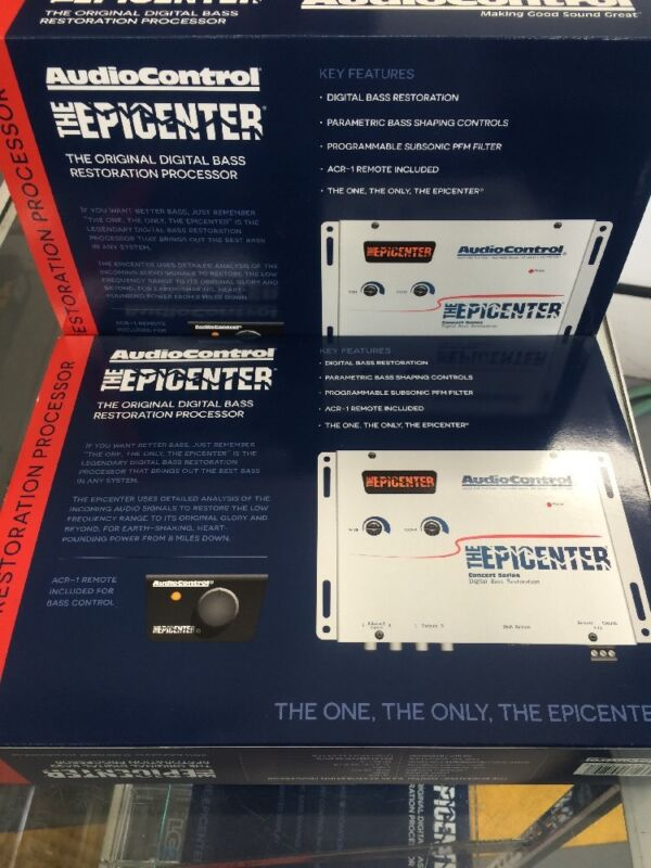 "AudioControl The Epicenter Bass Maximizer Equalizer Digital Restoration ""White"""