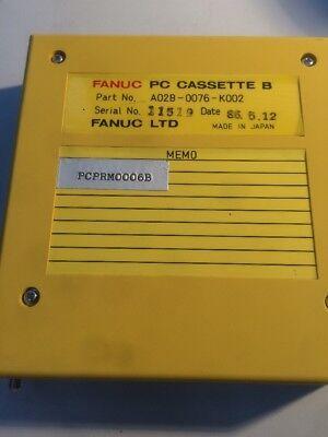 Fanuc PC Cassette B A02B-0076-K002