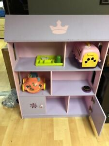 Doll house and storage