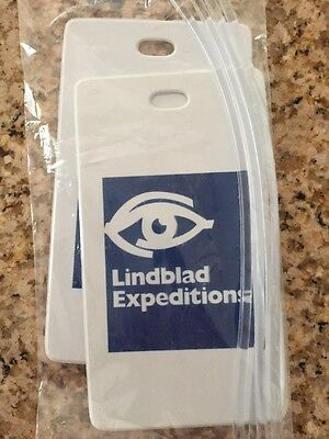 Package Of 2 Lindblad Expeditions Luggage Tags For Suitcase In Unopened Bag