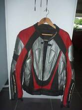 Mens M2R Full Leather Riding Jacket Road Motorbike Motorcycle Trinity Beach Cairns City Preview