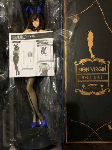 Oda Non Virgin Murako Hiromi Bunny Girl Soft Bust 1/4 Resin Figure GK Model
