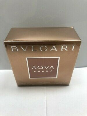 Aqva Amara by Bvlgari 3.4 oz/100 ml Eau de Toilette Spray Men, As Imaged, Sealed