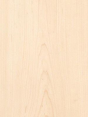 Maple White Wood Veneer Plain Sliced Paper Backer Backing 2 X 8 24 X 96