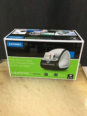 Genuine Dymo Labelwriter 450 Turbo Thermal Label Printer Brand New
