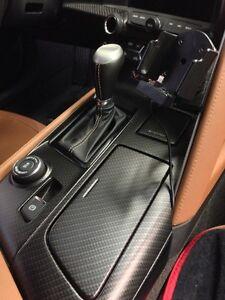C7 Corvette Stingray Carbon Fiber Shifter Console CF