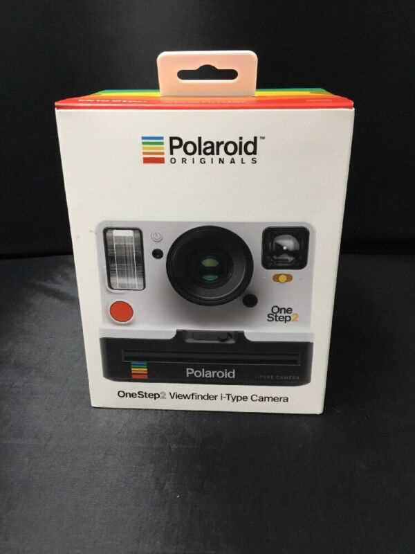 Authentic Polaroid OneStep2 Viewfinder i-Type Instant Film Camera White New