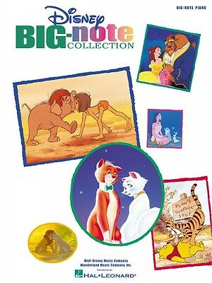 Disney Big-Note Collection Sheet Music Big Note Songbook NEW 000316056