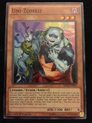 Uni Zombie   Sece En040   Common   Lightly Played   Yugioh   Great Zombie Card