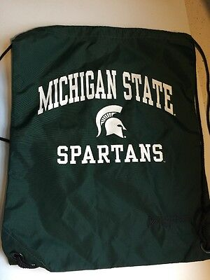 NCAA Michigan State Spartans Logo Drawstring Backpack Jansport - Michigan State Backpack