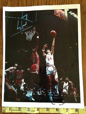 - 1974 NC State Basketball vs Maryland ACC Tommy Burleson Autographed Signed Photo