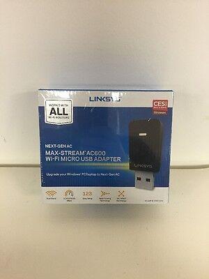 Linksys Net Gen Ac Max Stream Ac600 Wi Fi Micro Usb Adapter Wusb6100m